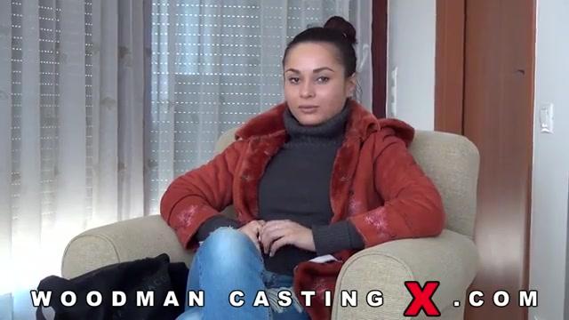 Кастинг смазливой россиянки